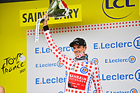 14th July 2021, Muret, France;  POELS Wouter (NED) of BAHRAIN VICTORIOUS during stage 17 of the 108th edition of the 2021 Tour de France cycling race, a stage of 178,4 kms between Muret and Saint-Lary-Soulan.