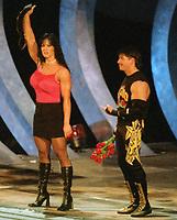 Chyna Eddie Guerrero 1999                                                             By John Barrett/PHOTOlink