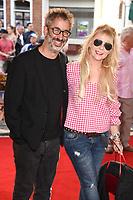 """David Badiel and Morwenna Banks<br /> at the """"Hampstead"""" premiere, Everyman Hampstead cinema, London. <br /> <br /> <br /> ©Ash Knotek  D3280  14/06/2017"""