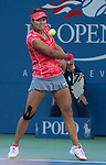Na Li (CHN) loses to Serena Williams (USA) 6-0, 6-3 at the US Open being played at USTA Billie Jean King National Tennis Center in Flushing, NY on September 6, 2013