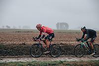 3rd October 2021, Paris–Roubaix Mens Cycling tour;  Jonas Rutsch during the Paris–Roubaix which is famous for its uneven cobblestone course.