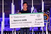 #30: Takuma Sato, Rahal Letterman Lanigan Racing Honda, Tag Heuer Don't crack under pressure award