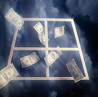 Money flying out the window, finances