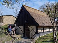 Salzhütte in Koserow auf der Insel Usedom, Mecklenburg-Vorpommern, Deutschland, Europa<br /> salt hut in Koserow, Isle of Usedom, Mecklenburg-Hither Pomerania, Germany, Europe