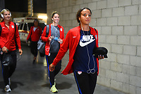 Carson, CA - Thursday August 03, 2017: Mallory Pugh prior to a 2017 Tournament of Nations match between the women's national teams of the United States (USA) and Japan (JPN) at the StubHub Center.