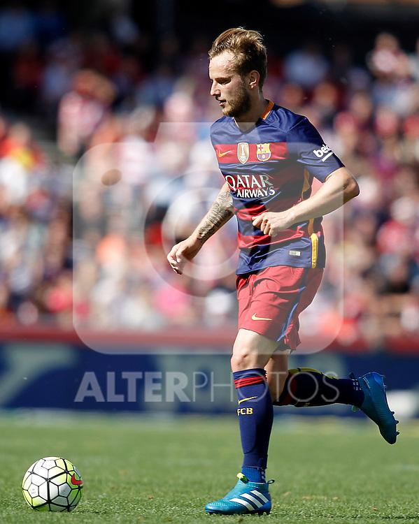 FC Barcelona's Ivan Rakitic during La Liga match. May 14,2016. (ALTERPHOTOS/Acero)