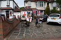 Sidcup, Kent, England 8th May 2020. Victory in Europe (VE) 75th Anniversary Celebrations during the UK Lockdown due to the Coronavirus pandemic. Photo by Alan Stanford / PRiME Media Images
