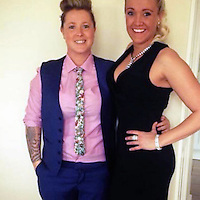 """COPY BY TOM BEDFORD<br /> Pictured: Emma Hughes (L), image taken from open social media site<br /> Re: A """"ruthless"""" businesswoman pretended to be the widow of a soldier killed in Afghanistan to get sympathy from her customers.<br /> Emma Hughes, 31, claimed she was left to bring up her twin sons alone after her hero husband was killed in action.<br /> But a court heard Hughes had never been married to a soldier and was in a lesbian relationship.<br /> Double glazing boss Hughes admitted aggressive and commercial practices which left customers thousands of pounds out of pocket.  <br /> Prosecutor Lee Reynolds said: """"She targeted elderly and vulnerable people, mostly women.<br /> """"When things went wrong Hughes said her husband was shot and killed in Afghanistan and she was left to look after their twins.<br /> """"Customers took pity on her and didn't pursue her as vigorously as they would otherwise.""""<br /> Merthyr Tydfil Crown Court heard Hughes's windows were dangerous and the firm's workmen left homes in a """"truly shocking condition""""."""