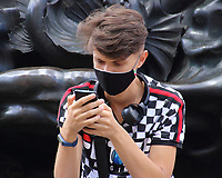 AUG 1 Facemasks worn on the streets of London