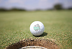 SOUTHLAKE, TX - SEPTEMBER 10: North Texas Mean Green Men's Golf  ball on the green at the Trophy Club Country Club in Southlake on September 10, 2013 in Southlake, Texas. Photo by Rick Yeatts