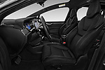 Front seat view of 2017 Tesla Model-X 100D 5 Door SUV Front Seat  car photos