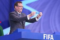 Costa do Sauípe, Bahia, Brazil - Friday, Dec 6, 2013: <br /> FIFA Secretary General Jérôme Valcke draws USA for Group G.