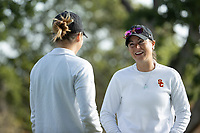 STANFORD, CA - APRIL 23: Katie Woodruff at Stanford Golf Course on April 23, 2021 in Stanford, California.