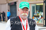 John Bowler at the lockdown protest in Tralee on Saint Patrick's day.