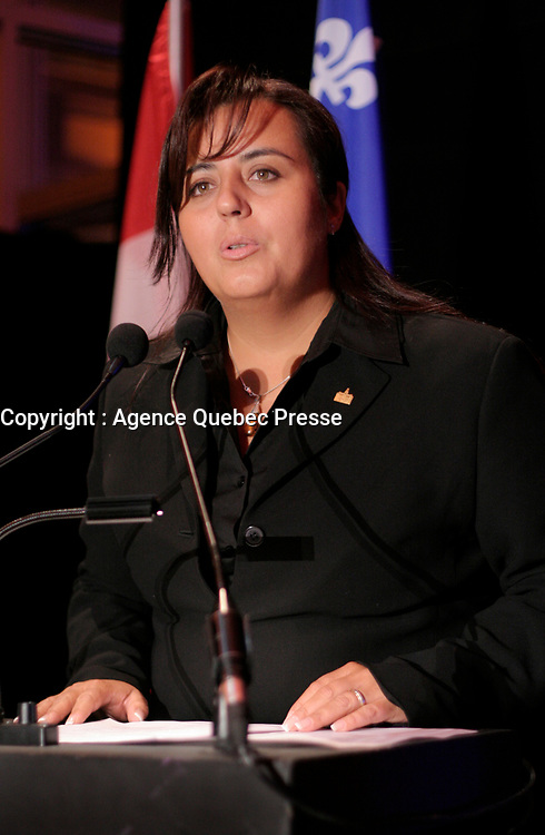 February 16 2006, Montreal (Qc) CANADA<br /> <br /> Soraya Martinez, City of Montreal<br /> <br /> Photo : Pierre Roussel / Images Distribution