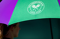 London, England, 3 th. July, 2018, Tennis,  Wimbledon, umbrella<br /> Photo: Henk Koster/tennisimages.com