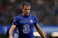2nd October 2021; Stamford Bridge, Chelsea, London, England; Premier League football Chelsea versus Southampton; Cesar Azpilicueta of Chelsea