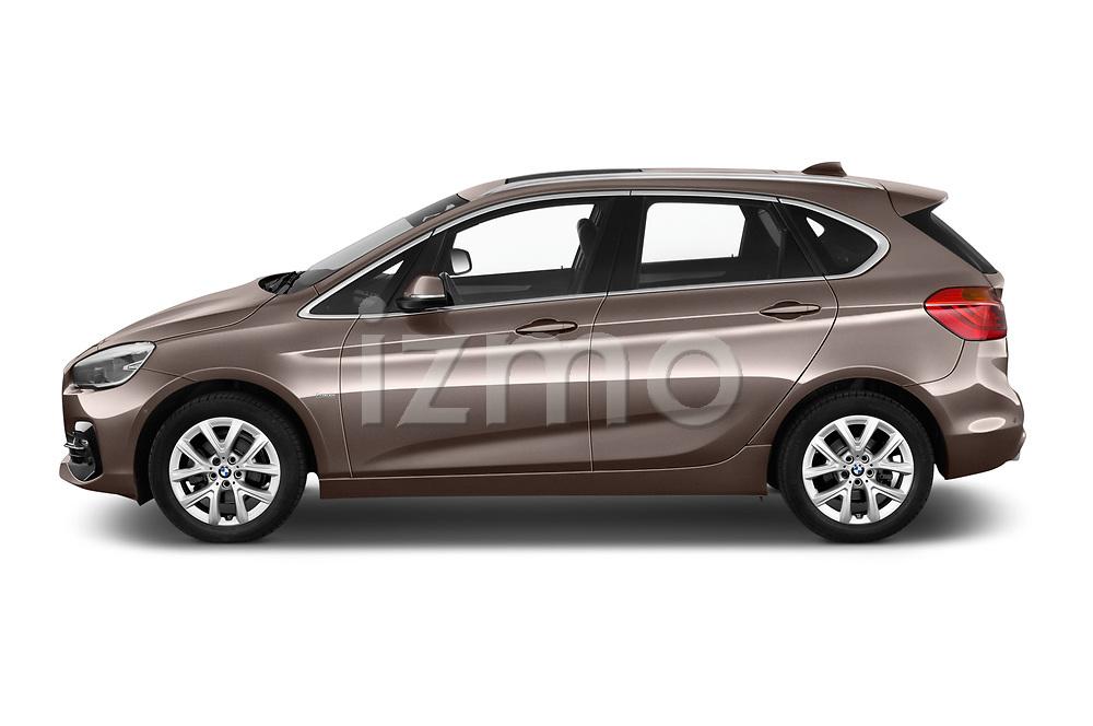 Car driver side profile view of a 2018 BMW bmw 2activetourluxmv1fb 5 Door Mini Van