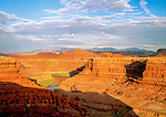Overlook at Dead Horse State Park, Moab, Utah,