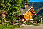 Oesterreich, Salzburger Land, Pinzgau: die Herz-Jesu-Kapelle oberhalb von Thumersbach oberhab des Zeller See | Austria, Salzburger Land, Pinzgau region:  Herz-Jesu-Chapel above Thumersbach above Zeller Lake