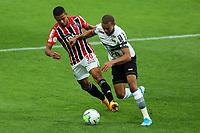 4th October 2020; Couto Pereira Stadium, Curitiba, Parana, Brazil; Brazilian Series A, Coritiba versus Sao Paulo;  William Matheus of Coritiba and Brenner of Sao Paulo