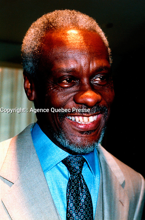 June 1999 File Photo, Montreal (Qc) CANADA<br /> <br /> Patterson, Jamaican President<br /> photo by Pierre Roussel / Images Distribution