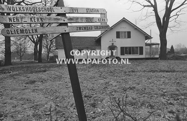Eerbeek, 19860214 - APA FOTO<br />Witte villa Coldenhovenseweg / Stuyvenburgstraat