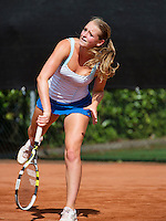 08-08-13, Netherlands, Rotterdam,  TV Victoria, Tennis, NJK 2013, National Junior Tennis Championships 2013, Marleen Habes<br /> <br /> <br /> Photo: Henk Koster
