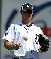 Detroit Tigers Bryan Holaday #76 during a exhibition game vs. the Florida Southern Mocs at Joker Marchant Stadium in Lakeland, Florida;  February 25, 2011.  Detroit defeated Florida Southern 17-5.  Photo By Mike Janes/Four Seam Images