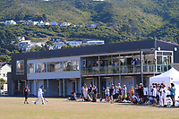 Action from day two of the Pearce Cup Wellington men's cricket final between Johnsonville and Taita at Alex Moore Park in Johnsonville, New Zealand on Saturday, 27 March 2021. Photo: Dave Lintott / lintottphoto.co.nz