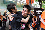 Runners compete during the Bloomberg Square Mile Relay race across Naka-Dori Street in Marunouchi on 22 May 2017 in Tokyo, Japan. Photo by Matt Roberts / Power Sport Images