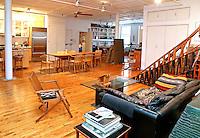 minimal wooden living room