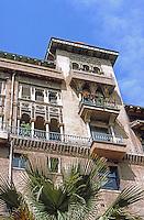 Pasadena CA: Hotel Green.  Spanish-Moorish Style.  Photo '87.