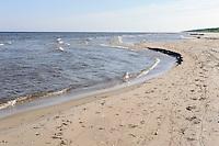Strand bei Kosrags, Lettland, Europa