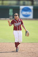 18 May 2007: Stanford Cardinal Tricia Aggabao during Stanford's 3-0 win against the Cal State Northridge Matadors in the 2007 NCAA Softball Regionals at Boyd & Jill Smith Family Stadium in Stanford, CA.