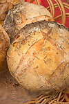 Chester, CT.  Sunday Market. Artisan sour dough loaf.