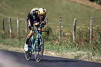 George Bennett (NZL/Jumbo Visma)<br /> <br /> Stage 13: ITT - Pau to Pau (27.2km)<br /> 106th Tour de France 2019 (2.UWT)<br /> <br /> ©kramon