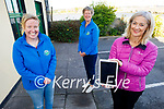 Launching the virtual Christmas tree for Kerry Hospice on Tuesday in Blennerville. Front right: Deirdre Walsh with Maura O'Sullivan and Andrea O'Donoghue