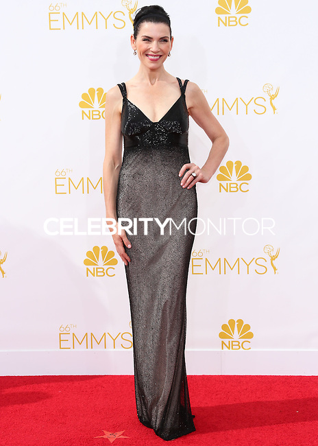 LOS ANGELES, CA, USA - AUGUST 25: Actress Julianna Margulies arrives at the 66th Annual Primetime Emmy Awards held at Nokia Theatre L.A. Live on August 25, 2014 in Los Angeles, California, United States. (Photo by Celebrity Monitor)