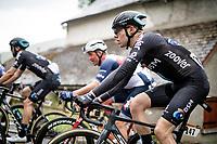Casper Pedersen (DEN/DSM) up the Col de Portet-d'Aspet<br /> <br /> Stage 16 from El Pas de la Casa to Saint-Gaudens (169km)<br /> 108th Tour de France 2021 (2.UWT)<br /> <br /> ©kramon