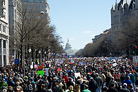 March for Our Lives, student organized march for gun control,  Washington D.C. 3.24.18