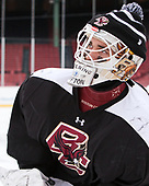 Ian Milosz (BC - 29) - The Boston College Eagles practiced on the rink at Fenway Park on Friday, January 6, 2017.