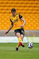 23rd May 2021; Molineux Stadium, Wolverhampton, West Midlands, England; English Premier League Football, Wolverhampton Wanderers versus Manchester United; Conor Coady of Wolverhampton Wanderers plays the ball across the back line