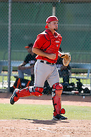 CJ Bressoud - Los Angeles Angels - 2009 spring training.Photo by:  Bill Mitchell/Four Seam Images
