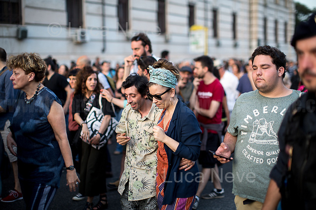 Marcello, Activist, Actor and Director.<br /> <br /> Rome, 01/05/2019. This year I will not go to a MayDay Parade, I will not photograph Red flags, trade unionists, activists, thousands of members of the public marching, celebrating, chanting, fighting, marking the International Worker's Day. This year, I decided to show some of the Workers I had the chance to meet and document while at Work. This Story is dedicated to all the people who work, to all the People who are struggling to find a job, to the underpaid, to the exploited, and to the people who work in slave conditions, another way is really possible, and it is not the usual meaningless slogan: MAKE MAYDAY EVERYDAY!<br /> <br /> Happy International Workers Day, long live MayDay!