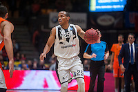 VALENCIA, SPAIN - JANUARY 6: Will Hatcher during EUROCUP match between Valencia Basket and PAOK Thessaloniki at Fonteta Stadium on January 6, 2015 in Valencia, Spain