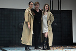 Nur Levi (l), Livija Pandur and Silvia Abascal on stage during the performance of the play Ecos on November 14, 2019 in Madrid, Spain.(ALTERPHOTOS/ItahisaHernandez)