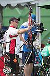 Kevin Evans, Rio 2016 - Para Archery // Paratir à l'arc.<br /> Kevin Evans competes in the Individual Compound - Open // Kevin Evans participe à l'épreuve individuelle - ouverte. 10/09/2016.