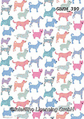 Kate, GIFT WRAPS, GESCHENKPAPIER, PAPEL DE REGALO, paintings+++++Patterned dogs,GBKM390,#gp#, EVERYDAY