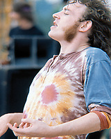 """BNPS.co.uk (01202 558833)<br /> Pic: BarryLevine/Guernseys/BNPS<br /> <br /> !!!ONE TIME USE ONLY!!! PICS ONLY TO BE USED IN RELATION TO THE AUCTION!!!<br /> <br /> Pictured: Joe Cocker at Woodstock.<br /> <br /> A photo collection offering a rare glimpse of the iconic Woodstock Festival has sold for over £12,000.<br /> <br /> The unique Levine series captured some of the world's most famous rock stars performing at the one-of-a-kind festival in Bethel, New York, in August 1969, including Jimi Hendrix, Janis Joplin, The Who, and Neil Young.<br /> <br /> Barry Levine, now 77, brushed shoulders with many of his subjects, recalling Hendrix's """"amazing sense of humour"""" and Young's disdain for photographers from his home in Florida."""